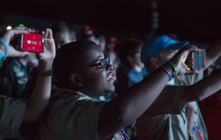 2017 National Jamboree closes with tunes, a bang — and a message to take home