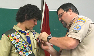 Eagle Scout Saves Four Lives While Surfing
