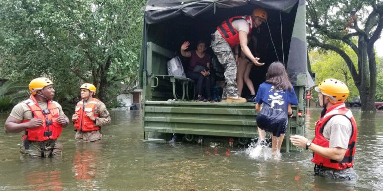 How to help members of our Scouting family affected by Hurricane Harvey