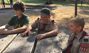 These Brave Scouts Stopped a Wildfire