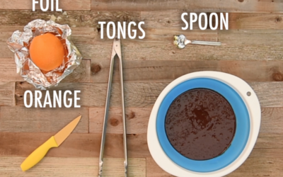 The Campfire Recipe Your Kids Will Love: Brownie in an Orange