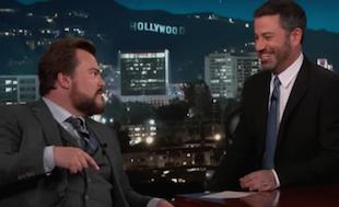 Jumanji's Jack Black Talks Scouting with Jimmy Kimmel