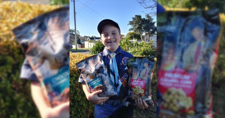 This Cub Scout got his stolen popcorn money back in the most remarkable way
