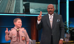 Cub Scout's Invention Debuts on the Steve Show