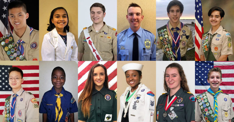 BSA goes to Washington: These 12 terrific young people will represent you in D.C.