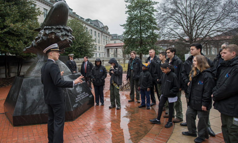 Eagle Scouts on the rise at U.S. Naval Academy, lifting all boats