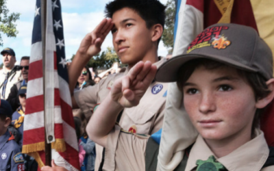 How Scouts Honored Memorial Day Across the Country