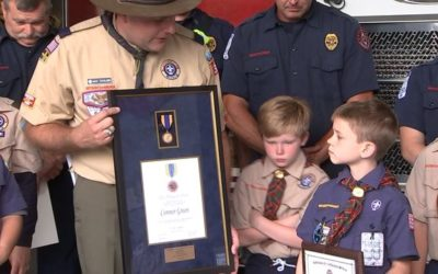 9-year-old Scout Saves His Mother's Life