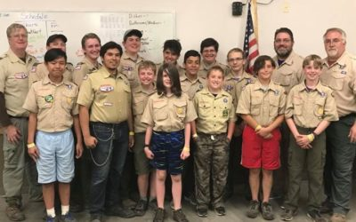 Scouts Respond Quickly to Motorcycle Crash Victims