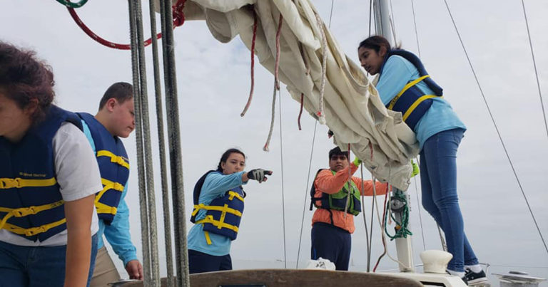 Sick of Black Friday sales, these Sea Scouts enjoy an annual Black Friday Sail instead