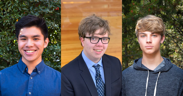 Three Scouts selected as finalists in nationwide high school STEM competition