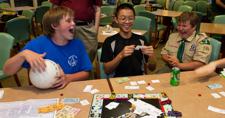 What's your go-to indoor game for Scouting meetings?