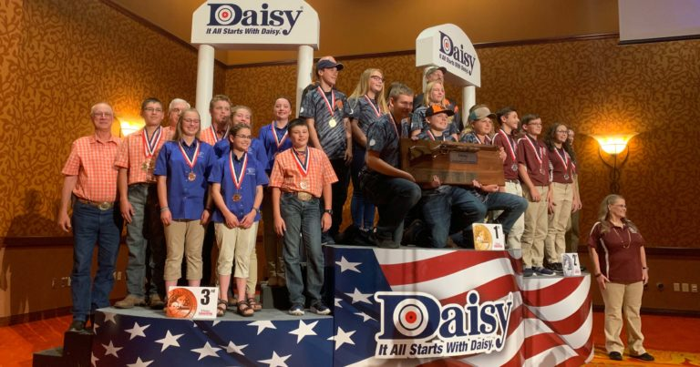 Scouts compete at Daisy National BB Gun Championship Match