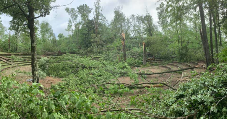 Officials vow to rebuild Ma-Ka-Ja-Wan Scout Reservation in Wisconsin after storm