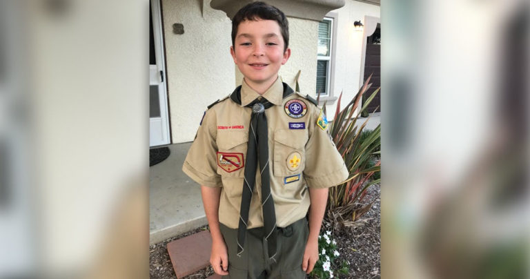 Unsung Hero: 10-year-old Cub Scout saves life of friend who was choking