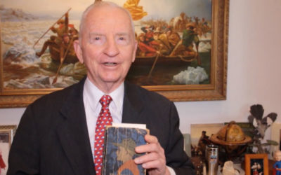 Ross Perot, longtime supporter of Scouting, passes away at age 89