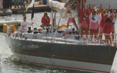 Former Sea Explorer recounts her groundbreaking voyage around the world