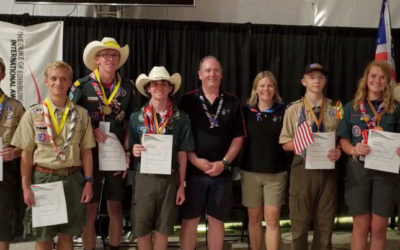Scouts, leaders honored with awards at the World Scout Jamboree