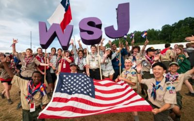 The future looks bright following the World Scout Jamboree