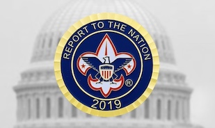 Scouts From Across the Country Deliver the 2019 Report to the Nation Highlighting Scouting's Unparalleled Service to Youth and Communities